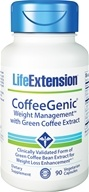 Life Extension - CoffeeGenic Green Coffee Extract with Glucose Control Complex - 90 Vegetarian Capsules (737870170792)