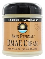 Source Naturals - Skin Eternal DMAE Cream - 4 oz. - $26.09