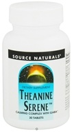 Source Naturals - Theanine Serene - 30 Tablets by Source Naturals