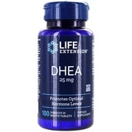 Life Extension - DHEA 25 mg. - 100 Tablets (737870607106)