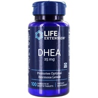 Life Extension - DHEA 25 mg. - 100 Tablets, from category: Nutritional Supplements