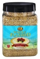Premium Gold Flax Products - 100% Natural Golden Whole Flaxseed - 26 oz. by Premium Gold Flax Products