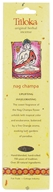 Triloka - Original Herbal Incense Nag Champa - 10 Stick(s)