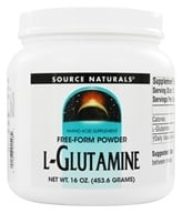 Source Naturals - L-Glutamine Free Form Powder - 16 oz. (021078015482)