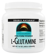 Image of Source Naturals - L-Glutamine Free Form Powder - 16 oz.