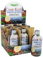 Greens Plus - Camu Kaze Energy Shot with Pure Amazon Camu Camu Wild Berry Adaptogen - 4 oz. by Greens Plus