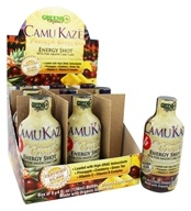 Greens Plus - Camu Kaze Energy Shot with Pure Amazon Camu Camu Pineapple Green Tea - 4 oz.
