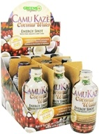 Greens Plus - Camu Kaze Energy Shot with Pure Amazon Camu Camu Coconut Water - 4 oz. by Greens Plus