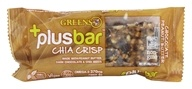 Greens Plus - Vegan Superfood Crisp Bar Peanut Butter & Dark Chocolate Crisp - 1.4 oz.