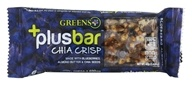 Greens Plus - Vegan Blueberry Almond Chia Crisp Bar Dark Chocolate, Almond & Blueberry Crisp - 1.4 oz.