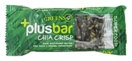 Greens Plus - Vegan Superfood Crisp Bar Original Flavor - 1.4 oz., from category: Nutritional Bars