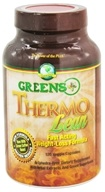 Greens Plus - Thermo Lean with Green Coffee Bean - 120 Vegetarian Capsules