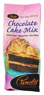 Image of Pamela's Products - All Natural Cake Mix Gluten Free Chocolate - 21 oz.