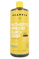 Everyday Shea - Authentic African Black Soap Peppermint - 32 oz. by Everyday Shea