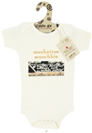 Kee-Ka - Little Apple Collection 100% Organic Short Sleeve Bodysuit Manhattan Munchkin 6-12 Months - CLEARANCE PRICED - $9.90