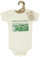 Image of Kee-Ka - Little Apple Collection 100% Organic Short Sleeve Bodysuit Borough Baby 6-12 Months - CLEARANCE PRICED