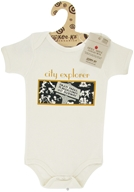 Kee-Ka - Little Apple Collection 100% Organic Short Sleeve Bodysuit City Explorer 6-12 Months - CLEARANCE PRICED - $9.90