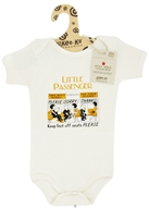 Kee-Ka - Little Apple Collection 100% Organic Short Sleeve Bodysuit Little Passenger 6-12 Months - CLEARANCE PRICED - $9.90