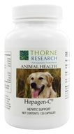 Image of Thorne Research - Animal Health Hepagen-C - 120 Capsules