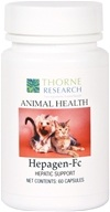 Thorne Research - Animal Health Hepagen-Fc - 60 Capsules, from category: Professional Supplements