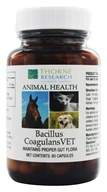 Thorne Research - Animal Health Bacillus CoagulansVET - 60 Capsules, from category: Professional Supplements