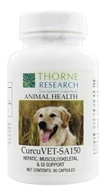 Image of Thorne Research - Animal Health CurcuVET-SA150 - 90 Capsules