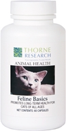 Image of Thorne Research - Animal Health Feline Basics - 60 Capsules