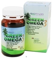 Biotivia - Green Omega 3 - 60 Vegetarian Capsules, from category: Nutritional Supplements
