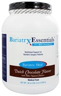 Metagenics - Bariatrx Essentials Bariatric Meal Medical Food Dutch Chocolate Flavor - 36 oz.