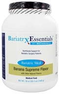Metagenics - Bariatrx Essentials Bariatric Meal Medical Food Banana Supreme Flavor - 36 oz. (755571916433)