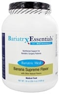 Metagenics - Bariatrx Essentials Bariatric Meal Medical Food Banana Supreme Flavor - 36 oz.
