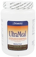 Image of Metagenics - UltraMeal Medical Food Natural Chocolate Mint Flavor - 22.5 oz.