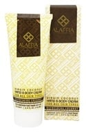 Alaffia - Virgin Coconut Hand & Body Cream Refreshing Coconut Scent - 4 oz.