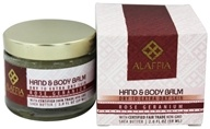 Image of Alaffia - Hand and Body Balm Shea Butter Rose Geranium - 2 oz.
