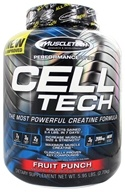 Image of Muscletech Products - Cell Tech Performance Series Hardgainer Creatine Formula Fruit Punch - 6 lbs.