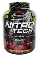 Muscletech Products - Nitro Tech Performance Series Whey Isolate Chocolate - 4 lbs. by Muscletech Products