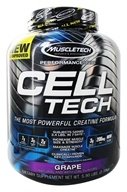 Muscletech Products - Cell Tech Performance Series Hardgainer Creatine Formula Grape - 6 lbs. - $51.99