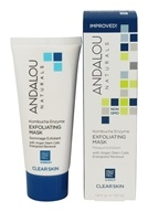 Andalou Naturals - Kombucha Enzyme Exfoliating Mask with Argan Stem Cells - 1.8 oz.