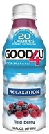 GOOD4U Sports Nutrition - Relaxation Formula 100% Natural Field Berry - 16 oz. (851481001969)