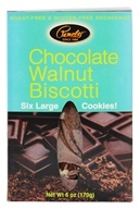Pamela's Products - Biscotti Gluten Free Chocolate Walnut - 6 Pack (093709120360)