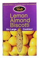 Pamela's Products - Biscotti Gluten Free Lemon Almond - 6 Pack - $4.29