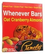 Pamela's Products - Whenever Bars Oat Cranberry Almond - 5 x 1.41 oz. Bars DAILY DEAL