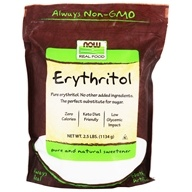 Image of NOW Foods - Erythritol 100% Pure Natural Sweetener - 2.5 lbs.