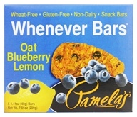 Pamela's Products - Whenever Bars Oat Blueberry Lemon - 5 x 1.41 oz. Bars, from category: Health Foods