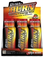 Dymatize Nutrition - Dyma-Burn Thermo & Energy Shot Mixed Berry - 2 oz. CLEARANCE PRICED