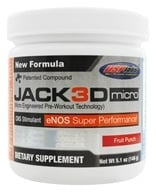 USP Labs - Jack3d Micro Fruit Punch - 5.1 oz. by USP Labs