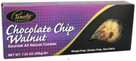 Image of Pamela's Products - Gourmet All Natural Cookies Gluten Free Chocolate Chip Walnut - 7.25 oz.