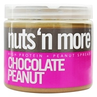 Image of Nuts N More - Chocolate Peanut Butter - 16 oz.