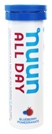 Nuun - All Day Hydration Vitamin Enhanced Drink Tabs Blueberry Pomegranate - 15 Tablets