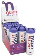 Nuun - All Day Hydration Vitamin Enhanced Drink Tabs Grape Raspberry - 15 Tablets by Nuun